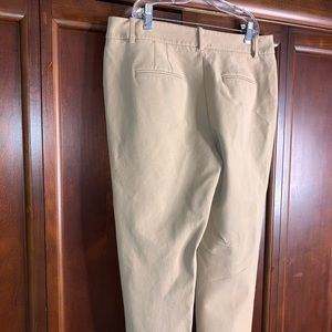 White House Black Market Pants - White House Black Market khaki pants